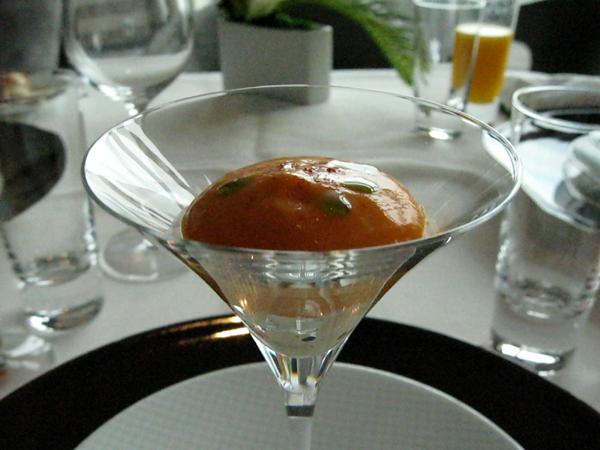 マンダリンオリエンタルホテル東京の「Signature French Inspired Dining」でフレンチランチを食す!