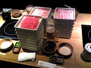 恵比寿で送別会「しゃぶしゃぶ温野菜」