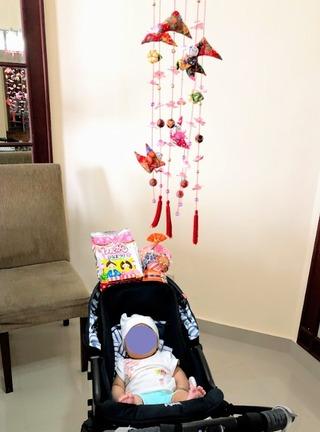 子供の初ひな祭り(桃の節句) @ジャカルタ