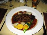 カナダバンクーバーの旨いディナー「O'Doul's」