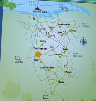 2回目のモンサンミッシェルの旅〜シャルルドゴール空港からRennes・Pontrsonを経由〜