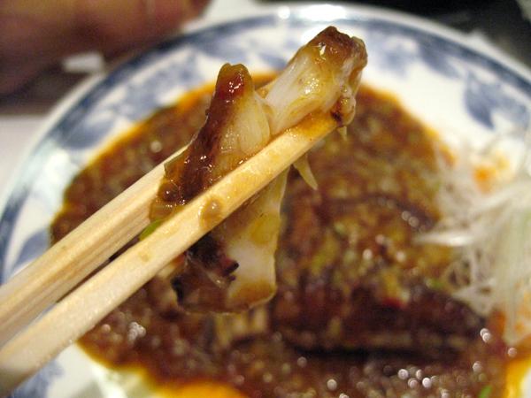 松山全日空ホテル「桃園」でエイ(鱏、鱝、海鷂魚)料理を食す!