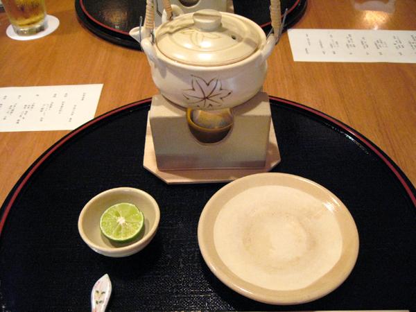 赤坂・溜池の「木都里亭(きとりてい)」で松茸会席コースを食す!