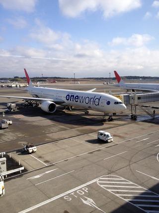 2回目のロンドン--日本航空「日本航空401」便