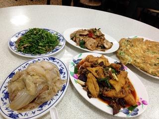 ローカルな台湾家庭料理店「忠南飯館」 @仁愛路・台北