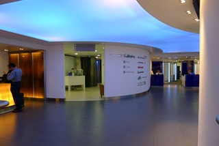 British Airwaysのラウンジ @ヒースロー空港