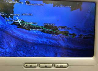 初めてのバリ島 --ガルーダ・インドネシア航空「GA0418」便
