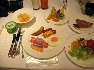 「ホテルモントレ赤坂」で朝食を食す!
