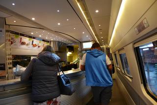 フィレンツェからヴェネツィアへ--Eurostar Italia「AU9414」便