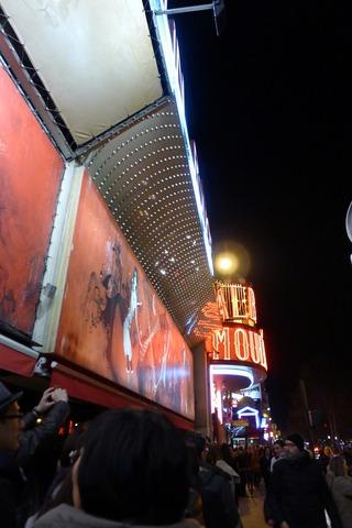 世界で一番有名なキャバレー「ムーラン・ルージュ(Moulin Rouge)」 @パリ・モンマルトル