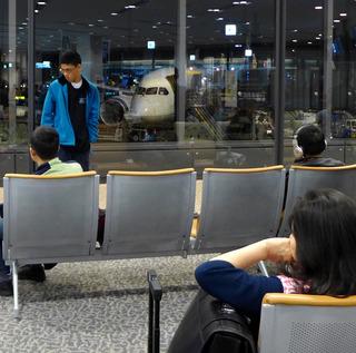 海外赴任後2度目の帰省 - 全日空「NH835」便--ANA BUSINESS CRADLE(787型機)」のビジネスクラス