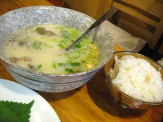 炭火焼&韓国家庭料理 漢拏山(ハンラサン)で三段バラ肉を食す!