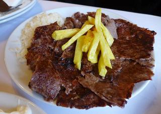 グランド バザール (カパリ チャルシュ)と「Aslan Restaurant」のケバブランチ @トルコ・イスタンブール
