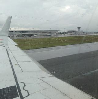 3年ぶりの広島--日本航空「JL1603」便