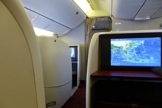 海外赴任後9度目の帰国 --日本航空「JL726」便--SKY SUITE 777(スカイスイート777)」