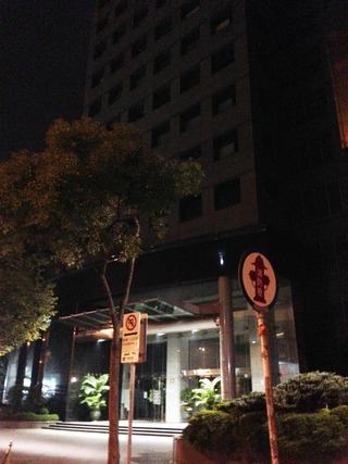 日本の領事館に相当する、「交流協会 台北事務所」です。