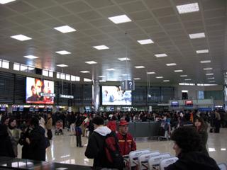 第五次的上海旅行-帰国「NH1282」