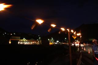 内子町小田、山ノ神火祭り