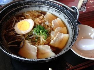 黒豚ラーメン「レストランたかくら」 @奄美