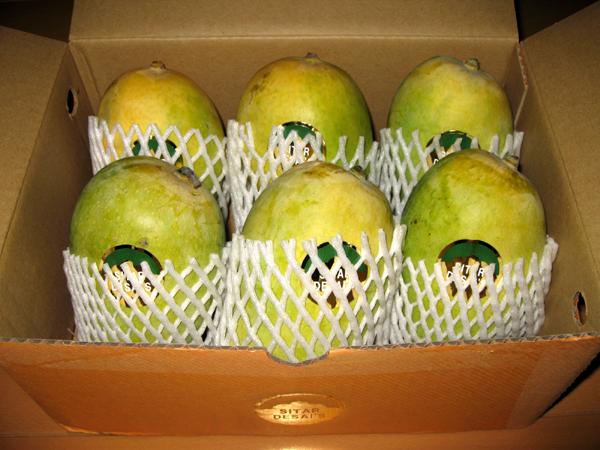 日本初上陸!インドのケシャール(ケサー、ケサール)マンゴーを食す!