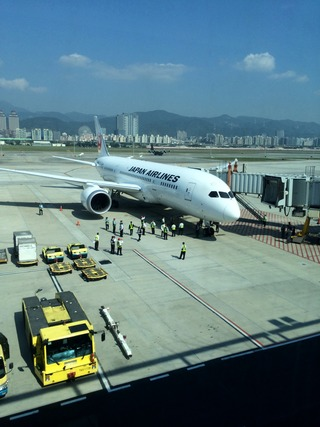 25回目の台湾--日本航空「JL097」便