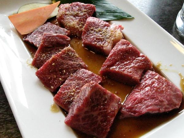 沖縄の「金城」北谷町(石垣牛焼肉)を食す!