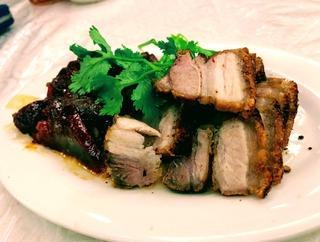 麗園小厨(Liyen Restaurant)の豚料理 @ジャカルタ