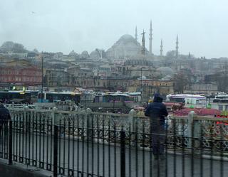 イスタンブール観光「エジプシャン バザール」「ボスポラス海峡クルーズ」「鯖サンド」 「ハマム」「トルコアイス」 @トルコ・イスタンブール