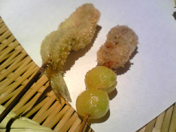 恵比寿「串亭(くしてい)」で串揚げを食す!