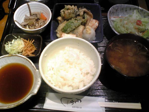 広尾・和の創作料理「たかし」で秋刀魚ランチを食す!