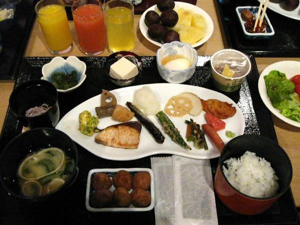 ラグナガーデンホテルの朝食
