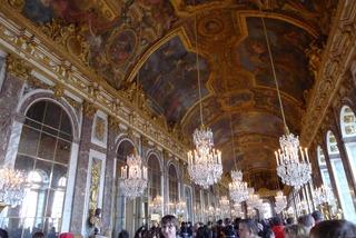シャルル・ド・ゴール空港駅からベルサイユ宮殿まで @パリ
