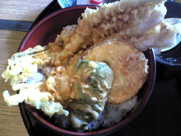 恵比寿・海の家・うみのいえ・ウミノイエで(日替わり)江戸前 穴子天丼を食す!