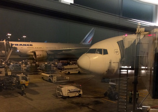 38回目のシンガポール&ビンタン島--エールフランス「AF259」便のビジネスクラス