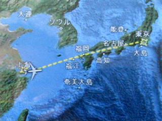 ANAの虹橋-羽田線「NH1282便」