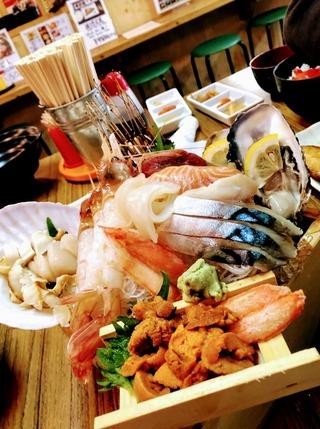 函館の海産物