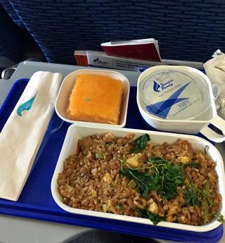 バンコクからサムイ島 --バンコク・エアウェイズ「PG 117」便