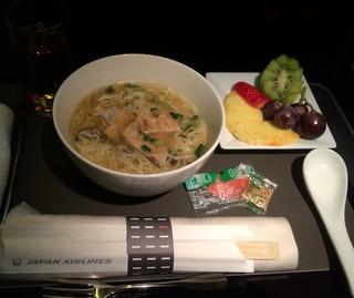 初めてのフランクフルト--日本航空「JL408」便のビジネスクラス