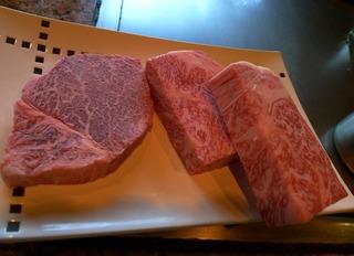 5等牛のチャンピョン牛と伊勢海老 @宮崎・ミヤチク