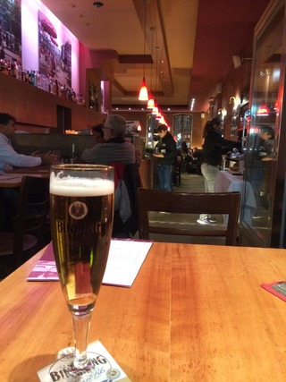「Cafe Hauptwache」のシュヴァインスハクセ @フランクフルト