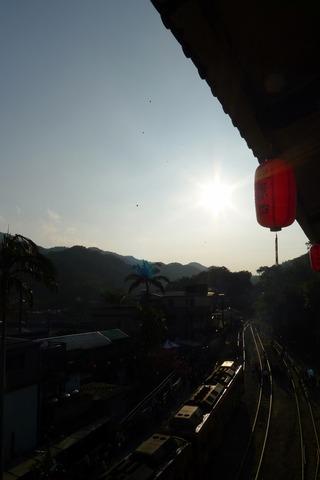 台湾ランタンフェスティバル2014 @台北・菁桐展望台カフェ