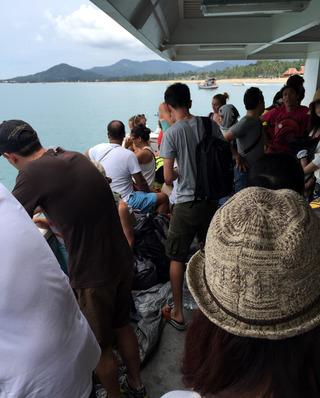 いざフルムーンパーティーへ!� @タイ・パンガン島