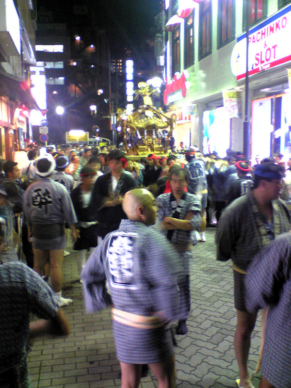 赤坂の祭り
