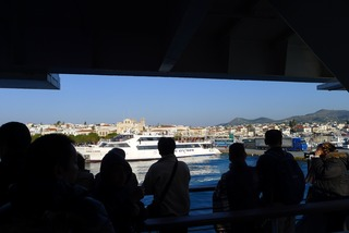 エーゲ海クルーズ エギナ島〜アテネ港 @ギリシャ・アテネ
