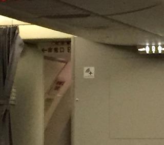 海外赴任後7度目の帰国 --日本航空「JL729」便--SKY SUITE 767(スカイスイート767)」