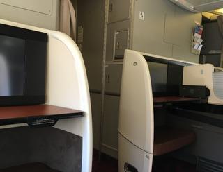 ジャカルタ赴任後17度目の帰国 --日本航空「JL725」便--SKY SUITE 777(スカイスイート777)」