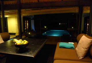 バンヤン ツリー ビンタン (BANYAN TREE BINTAN)夜編 @インドネシア・ビンタン島