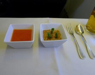 日本航空「JL407」便の機内食