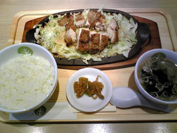 恵比寿の「じゅうじゅう千徳(セントク)」にてランチを食す!