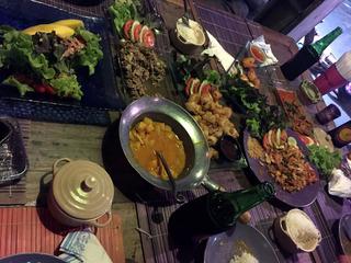 ボプットビーチのフィッシャーマンズ・ビレッジ @タイ・サムイ島
